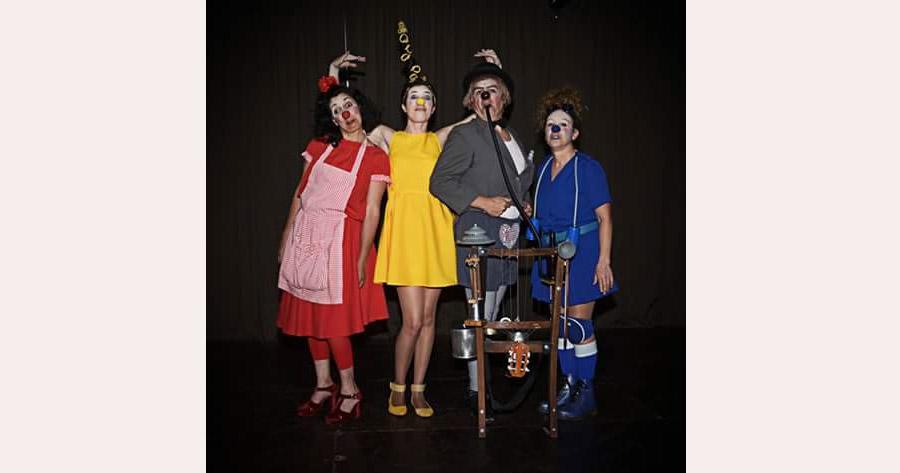 Afiche obra Paleta de pintor 2015 Clown Claudio Moda