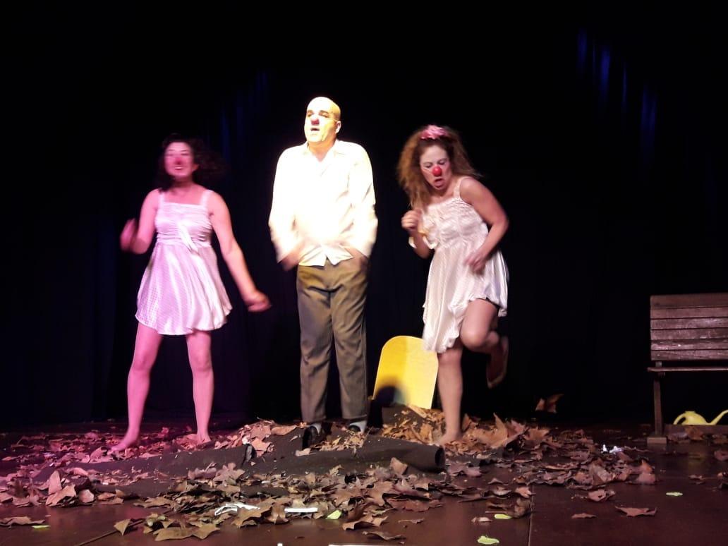 """Obra de Clown """"Solos"""" con Claudio Moda, en la semana del teatro en Cañada de Gomez, Casa del Bicentenario."""