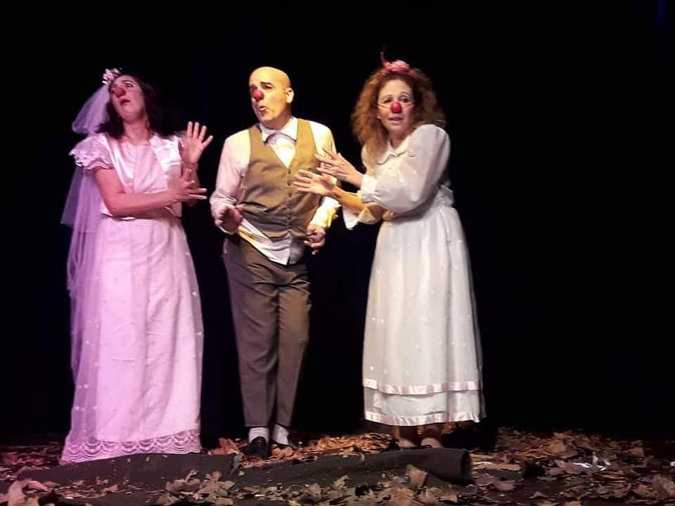 Obra de teatro Paleta de pintor en la temporada teatral de Cañada de Gomez con Claudio Moda