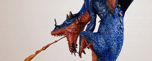 Diorama Ergastulo de azufre del artista Claudio Moda