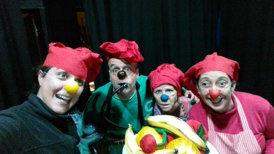 Paleta de pintor 2017 Obra Clown Claudio Moda