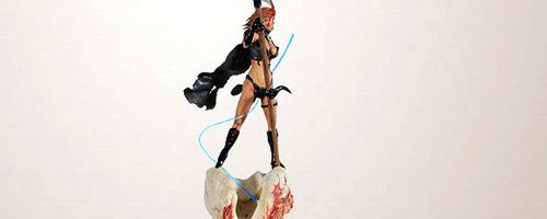 Diorama Los hilos de Láquesis del artista Claudio Moda